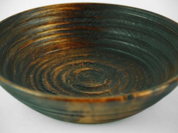 木製深鉢-皿