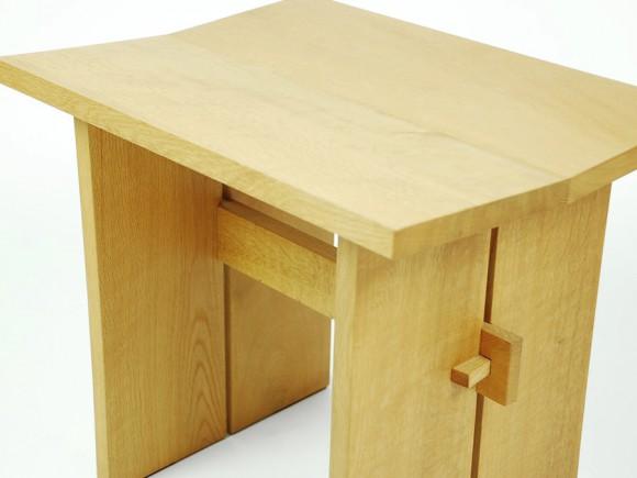 stool-wood