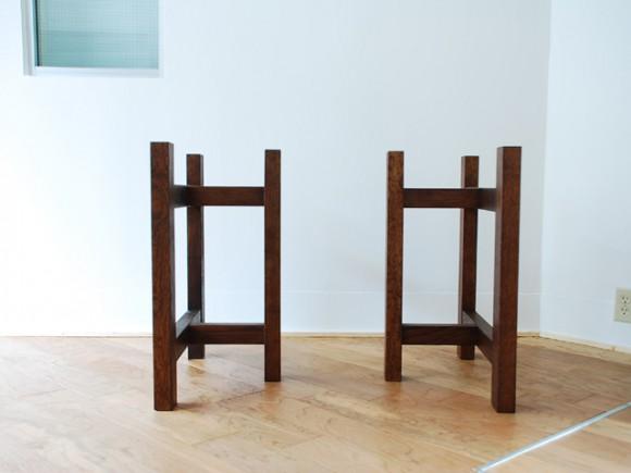 テーブル 無垢天板用 脚