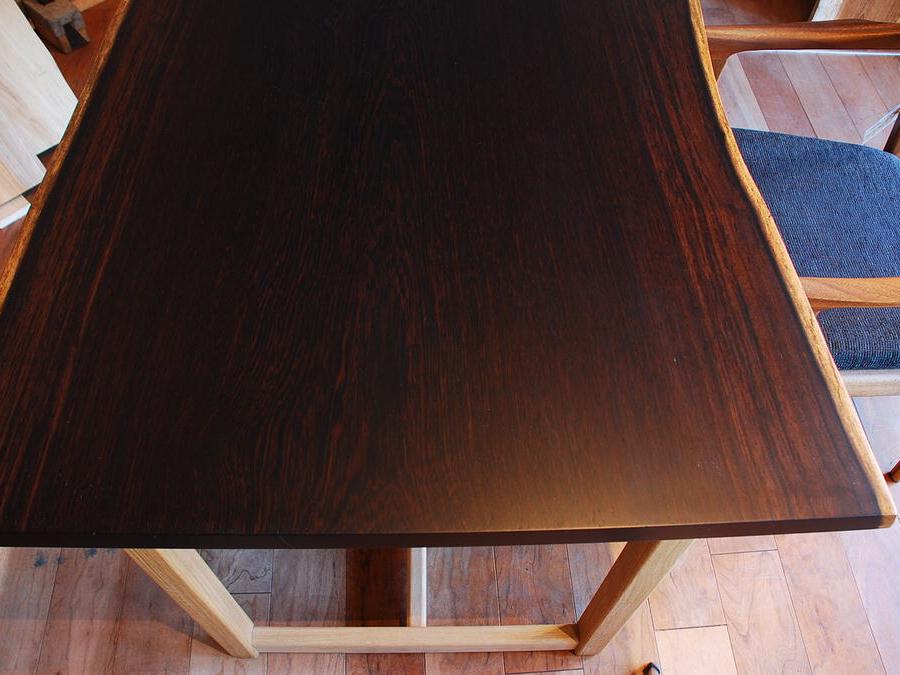 ウェンジ無垢板 テーブル