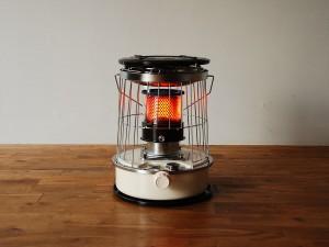 小さい 灯油ストーブ 小型 アルパカTS-77 コンパクト
