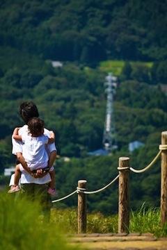 親子と自然
