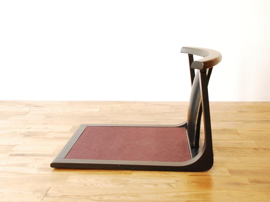 U201cZAISUu201d (Low Chair) Leather Back Part Set4