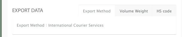 export data Export